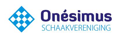 Kom schaken bij Onesimus Logo